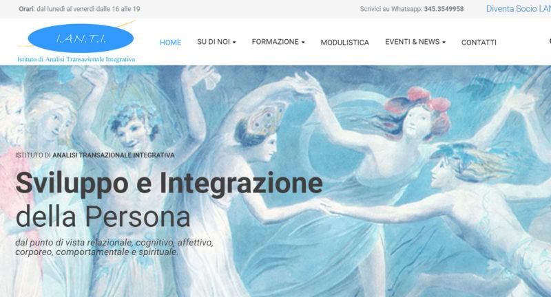 Il nuovo sito I.AN.T.I. è online